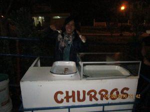 We eat lots of churros