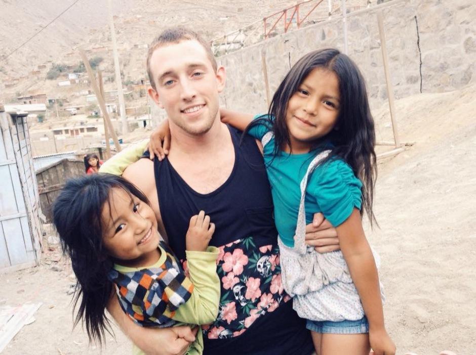 Zach with Zone S kiddos