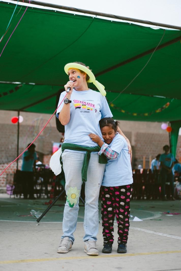 Elisa MC con Maria Puma